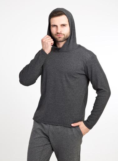 Kiğılı Sweatshirt Antrasit
